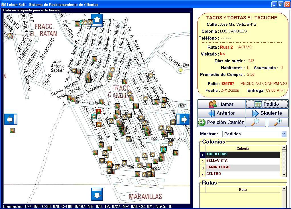 Software Administrativo de Ventas integrado con GPS